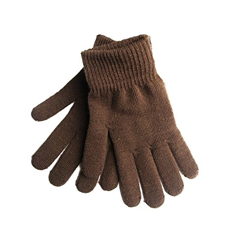 Brown Gloves - 1