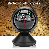 Yosoo Health Gear Electronic Boat Compass, Black