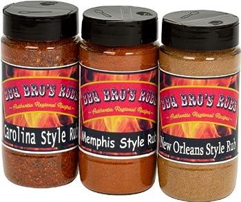 BBQ Bros Rubs 10-ounce BBQ Rubs