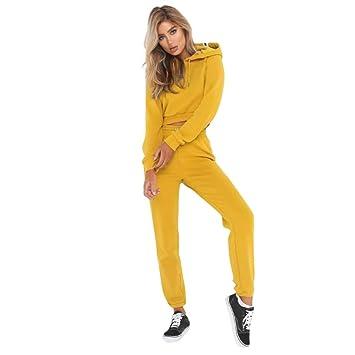 Sweatshirt Trainingsanzug Hoodies Frauen Stücke Venmo 2 Sets Hosen qzHFq7