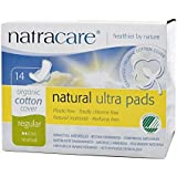 Image: Natracare Pads Ultra With Wings | Certified organic 100% cotton | Totally chlorine and plastic free | No synthetic materials, chemical additives such as binders or surfactants, fragrances or dyes