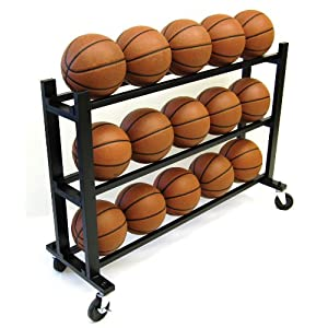 Trigon Sports Procage 3-Tier 15-Ball Hd Ball Cart