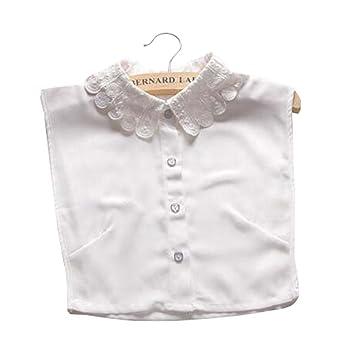 Cuello falso falso del cuello de las camisas de la blusa del cuello falso Collar falso