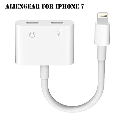 quite nice a8268 83b06 Amazon.com: iPhone 7 Adapter, iPhone 7 Converter, Dual Lightning ...