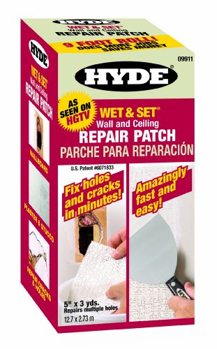 Hyde Tools 9911 5-Inch X 9-Foot Drywall Repair Roll Flexible