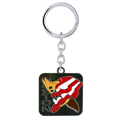 Algol - NEON GENESIS EVANGELION Keychain EVA 01 02 03 Enamel ...