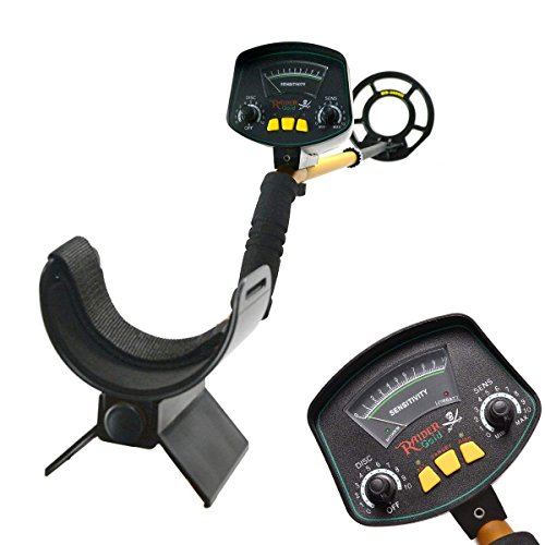 JunHo Lightweight Gold Digger Metal Detector,Professional Adjustable Gold Treasure Detectors,Waterproof High Accuracy Search Coil,Within 8 Inches Adjustable Metal Detector by JunHo