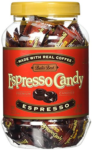 Bali's Best Candy Jar, Espresso, 1 Pound