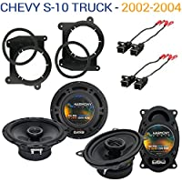 Chevy S-10 Truck 2002-2004 OEM Speaker Upgrade Harmony R46 R65 Package New
