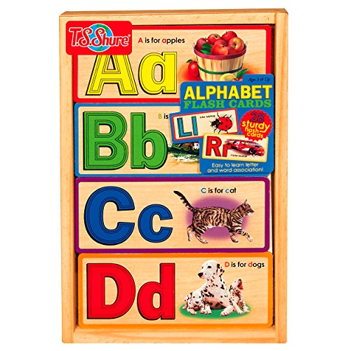 T.S. Shure Alphabet Flash Cards