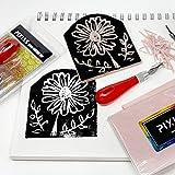 Rubber Block Stamp Carving Blocks Stamp Making Kit
