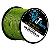 Cheap Jig Jerking SUPER POWER 4/8 Strands Braided Fishing Line 100% PE with ZERO Stretch & Abrasion Resistant (500M/547Yds 20Lb 30Lb 50Lb 80Lb 100Lb) – MUST HAVE !
