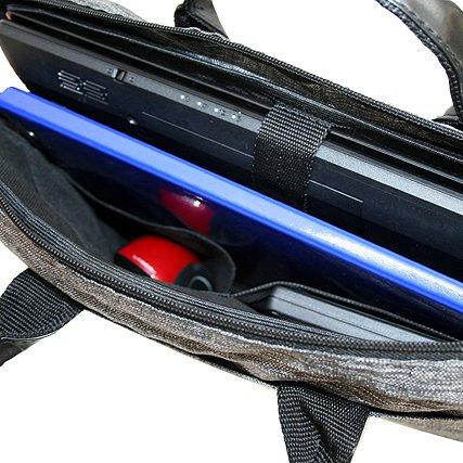 BAMBINIWELT Laptoptasche, Notebooktasche, Aktentasche, Huelle, Case in 15 oder 17 Zoll, MELIERT bordeaux (15 Zoll)) pink (17 Zoll)