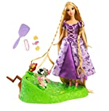 Mattel Disney Tangled Featuring Rapunzel Braiding Friends Hair Braider
