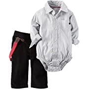 Carter's Baby Boys' 3 Pc Sets 127g208, Ivory, NB