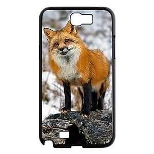 ALICASE Diy Design Back Case Fox for Samsung Galaxy Note 2 N7100 [Pattern-1]