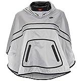 Nike Women's Tech Poncho Jacket, White/Black, Medium