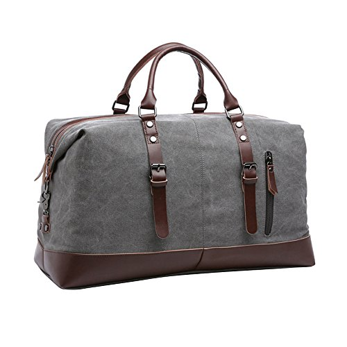 Travables TR D00 Overnight Leather Weekender