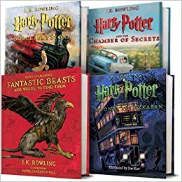 harry potter illustrated book 4 date