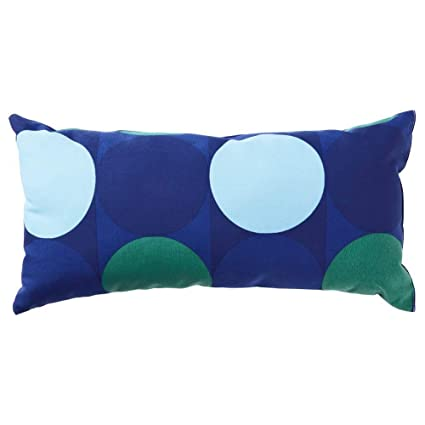 IKEA ASIA KROKUSLILJA - Cojín, Color Azul y Verde: Amazon.es ...