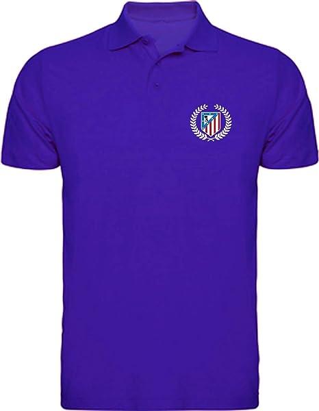 Desconocido Polo Atlético De Madrid Camisetas del Atleti ATM Colchoneras Rojiblanco: Amazon.es: Ropa y accesorios