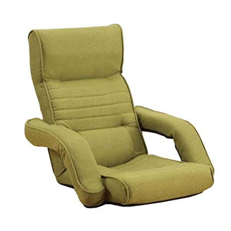 Amazon.com: Sofá cama individual con pasamanos ajustable, 14 ...