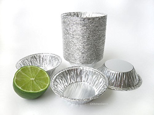 Disposable Aluminum 3'' Tart Pans/ Individual Pie Pans #301 (2,000) by Safca