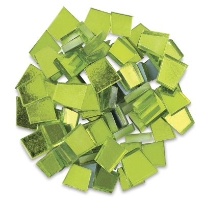 - Mosaic Mercantile Colored Mirrors, 1/2-Pound, Assorted