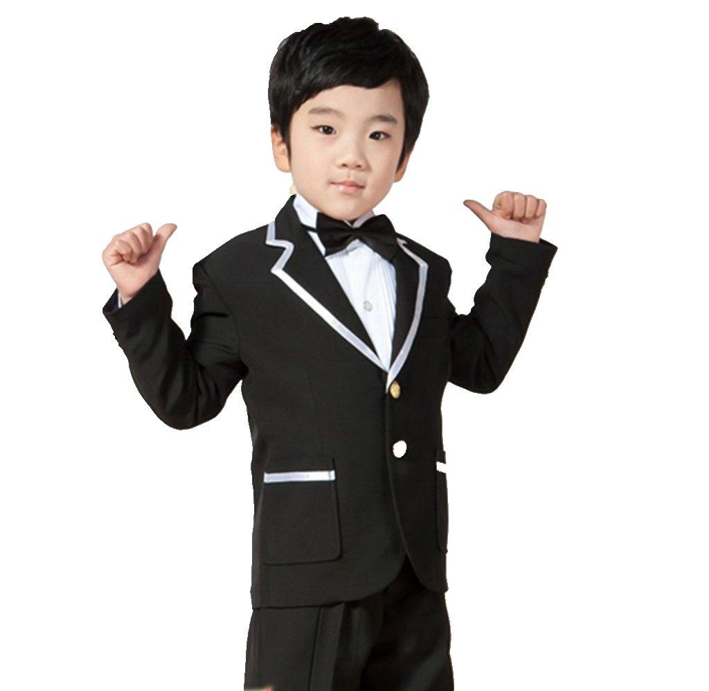 MLT Boy's Suits Notched Lapel Party Prom Wedding Tuexdos (L)