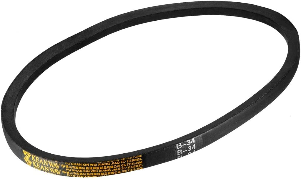 uxcell/® B42 Drive V-Belt Girth 42-inch Industrial Power Rubber Transmission Belt