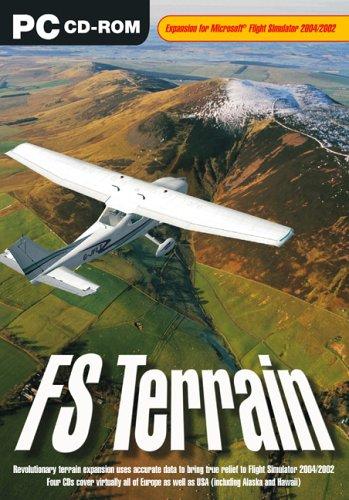 FS Terrain - Expansion for Microsoft Flight Simulator for sale  Delivered anywhere in USA