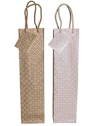 Metallic Wine Bags - 7