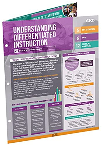 Understanding Differentiated Instruction Quick Reference Guide