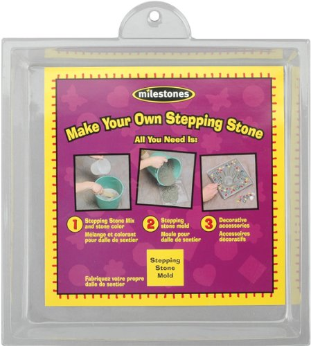 Midwest Small Square Stepping Stone Mold, 8-Inch