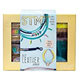 jewelry making kit for teens - STMT DIY Leather Jewelry Kit by Horizon Group USA