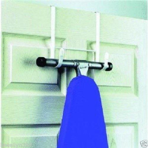 Over the Door Ironing Board Holder Hanger New