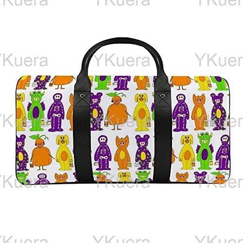 不公平1 旅行バッグナイロンハンドバッグ大容量軽量多機能荷物ポーチフィットネスバッグユニセックス旅行ビジネス通勤旅行スーツケースポーチ収納バッグ