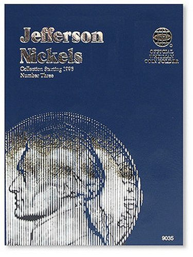 Jefferson Nickels Folder Starting 1996 (Official Whitman Coin Folder)