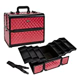 Seya Large Pro Makeup Artist Case (Hot Pink Diamond)