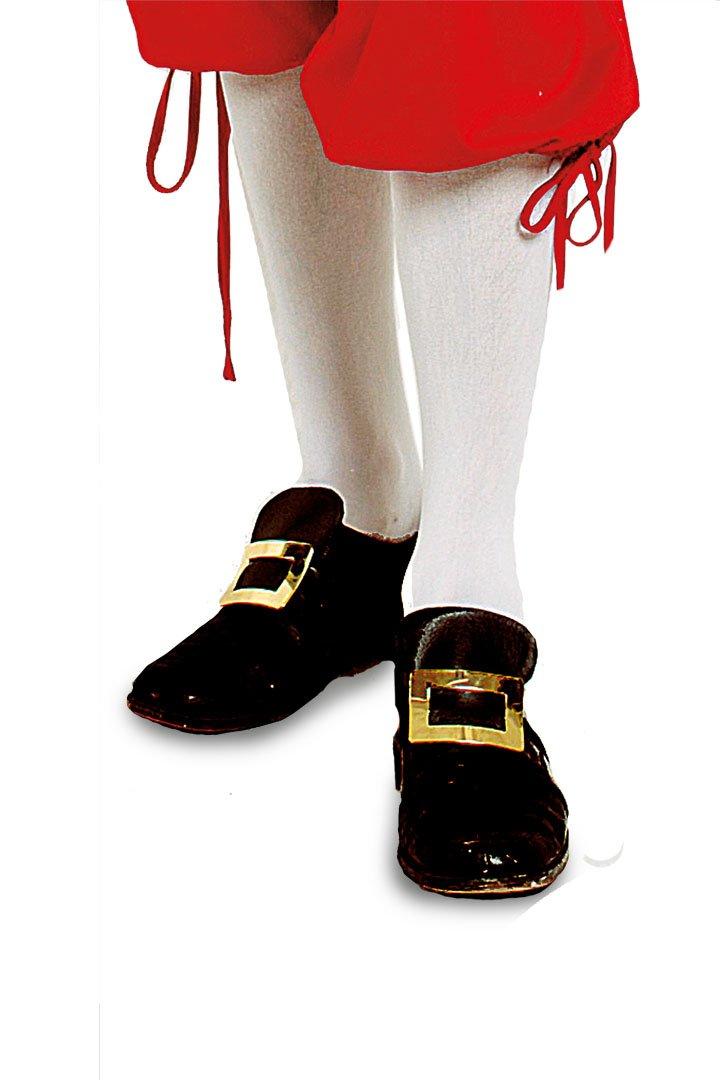 2 Paar Kniestrümpfe Weiß Mozart Barock Garde Baumwolle oder Nylon Blickdicht (35-38 Baummwolle)