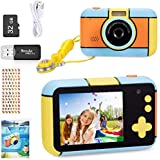 ToyZoom Children's Camera 24MP Digital Camera 1080P HD Camcorder Boys Girls Selfie Camera with 32GB SD Card, 2.4 Inch…