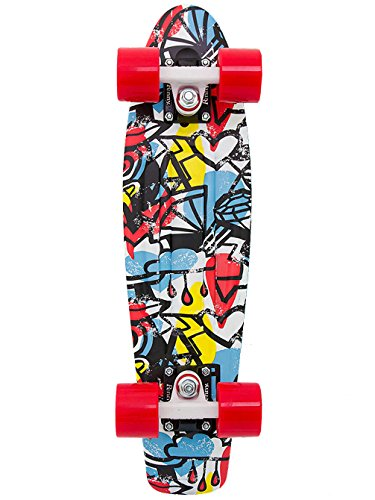 "Penny Weird Reality Complete Skateboard, Comic Fusion, 22"" L"