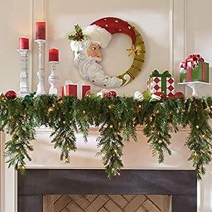 6′ Cascading Christmas Garland – Grandin Road
