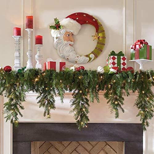 6' Cascading Christmas Garland - Grandin Road (Decor Mantle Christmas For)