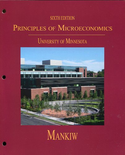 Principles of Microeconomics for University of Minnesota