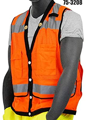 Majestic CLASS 2 HIGH VISIBILITY HEAVY DUTY VEST (75-3208)
