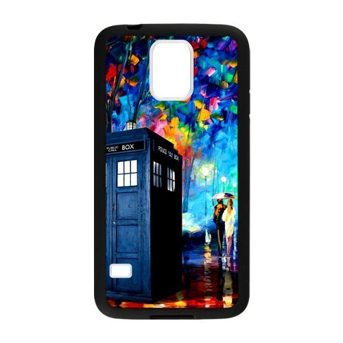 Doctor Who Costume Patterns (JuanJuan Colorful Printed Doctor Who Box Pattern Phone Case Cover of Samsung Galaxy S5 (Laser Technology))