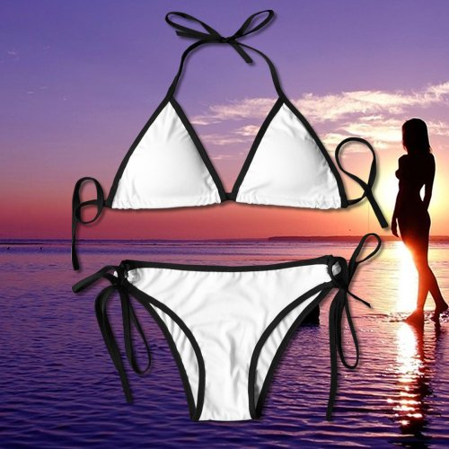 bde31c8224cf Amazon.com  ART TANG Perfect Gift For Women - Aliens Space Ufo Summer Sexy  Two Pieces Halter Bikini Set  Sports   Outdoors