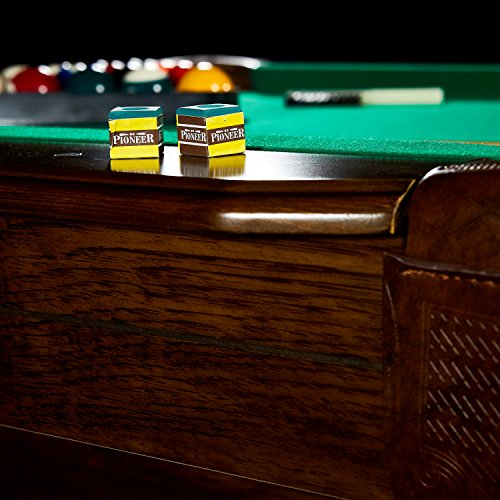 BARRINGTON Springdale Claw Leg Billiard Table Set With Cues Rack - Springdale pool table