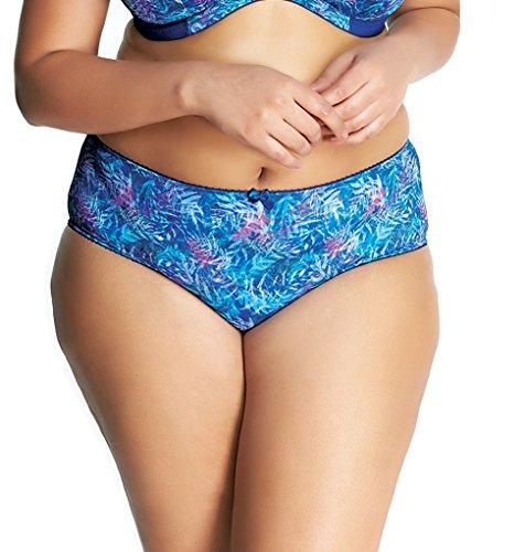 Goddess Women's Plus Size Kayla Brief,Laurel Blue,X-Large